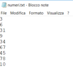 File di numeri interi