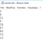 File di numeri interi